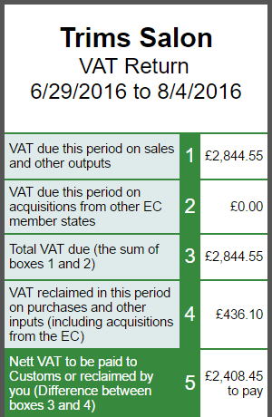 VAT Returns (mobile)